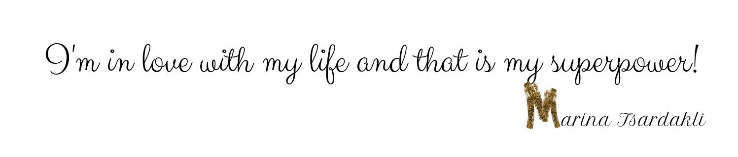 Εκεί που ερωτεύομαι τη ζωή